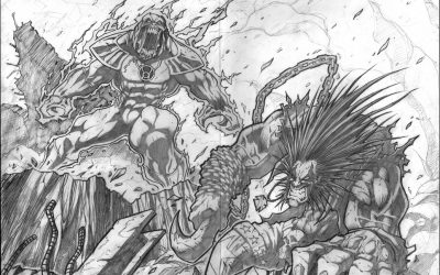 Red vs Green vs Lobo pg4 & 5