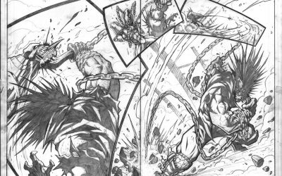 Red vs Green vs Lobo pg8 & 9
