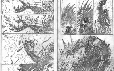 Sith Juggernaut pages 4 and 5